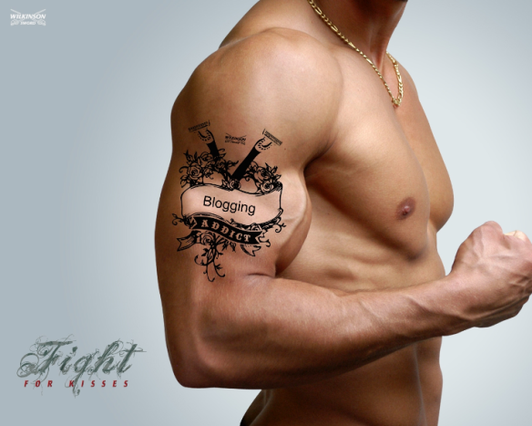 Fight for Kisses - Wilkinson campaign - tattoo desktop